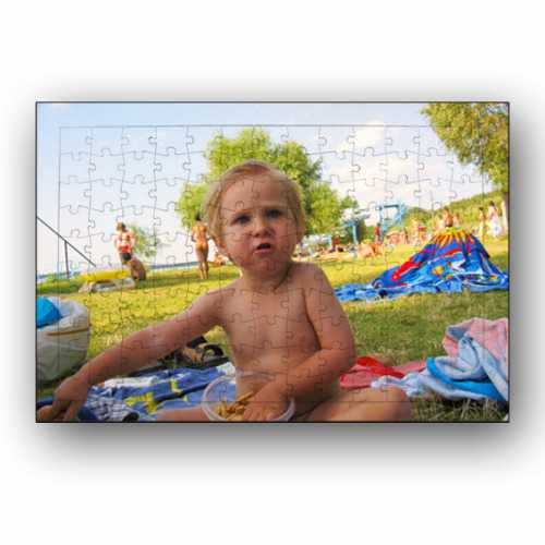 Resim Basılabilir Ayaklı Dikdörtgen Puzzle A4