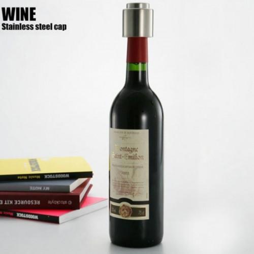 Paslanmaz Çelik Şarap Şişe Kapağı