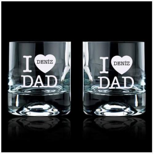 Babanıza Özel 2'li Viski Bardağı