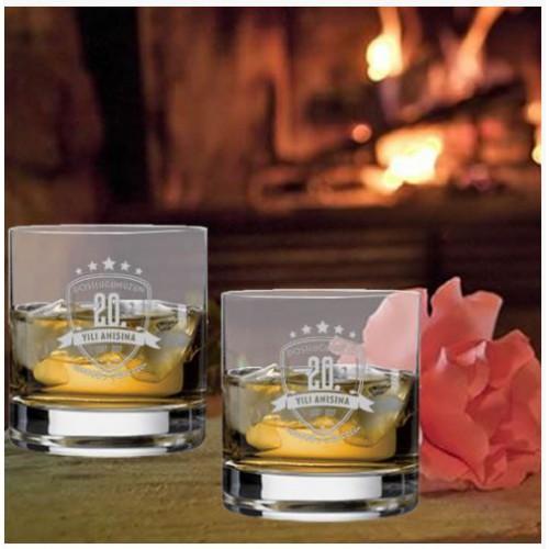 Size Özel Logolu Viski Bardağı Seti