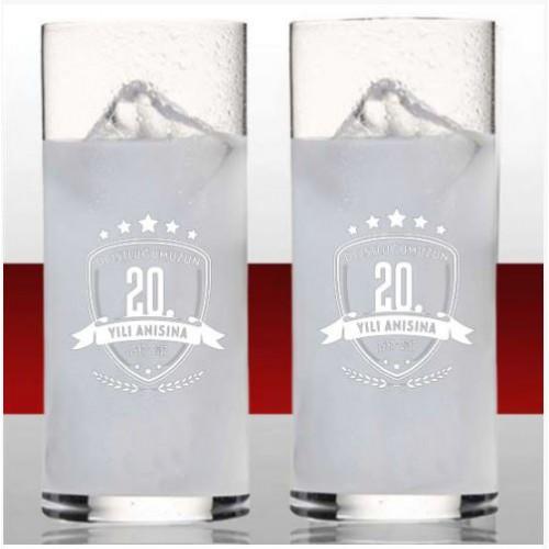 Size Özel Logolu Rakı Bardağı Seti